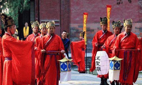 [AsiaNet] 2018 취푸 국제공자문화축제에서 훌륭한 공자 의식 거..