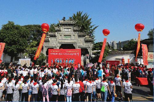 [AsiaNet] 중국 샹양서 제갈량 기념해 문화축제 개최
