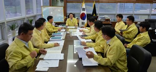 5일 열린 전남농협 재해대책위원회 회의.