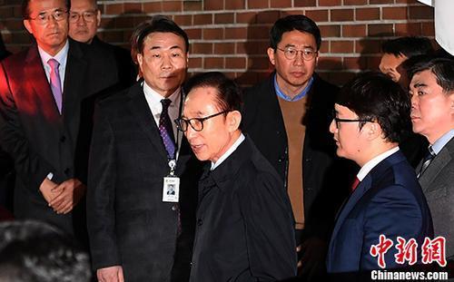 中매체, 이명박 15년형 선고 긴급 타전