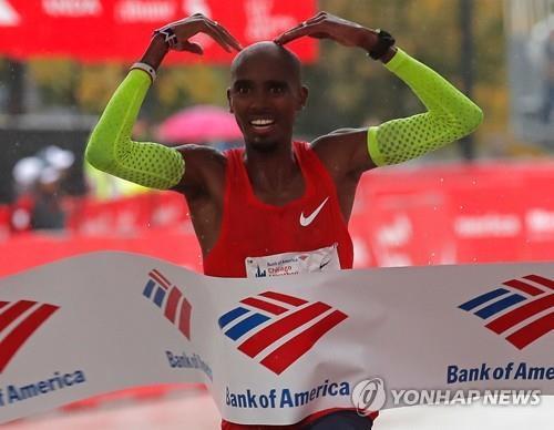 2018 시카고 마라톤, 영국 '장거리 스타' 모 패라 우승(종합2보)