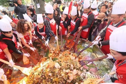 전주비빔밥축제로 음식 명인 만나러 가세