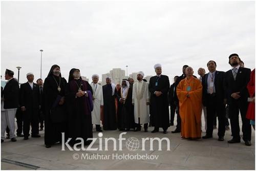 """""""갈등은 대화로 풀어야""""…카자흐서 세계종교지도자 대회 개최"""
