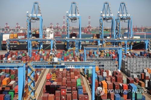 중국 1∼3분기 수출입 9.9% 증가