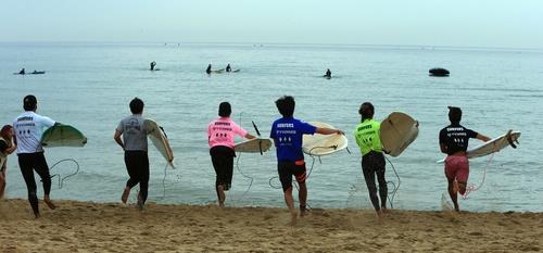 양양 서핑 페스티벌 [연합뉴스 자료사진]