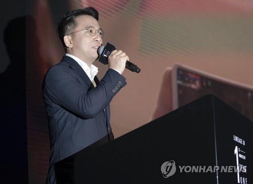김택진 엔씨소프트 대표, [연합뉴스 자료사진]