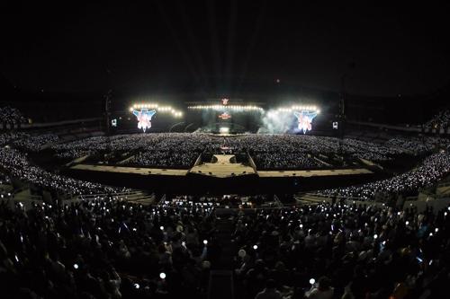 5만명 운집한 H.O.T. 콘서트