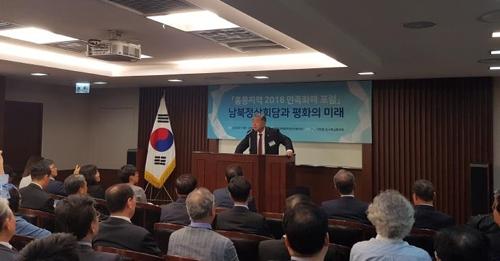 """문정인 """"북한 경제, 국제사회 제재 적응해 내구성 키워"""""""