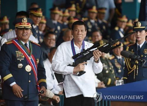 로드리고 두테르테 필리핀 대통령[로이터=연합뉴스 자료사진]