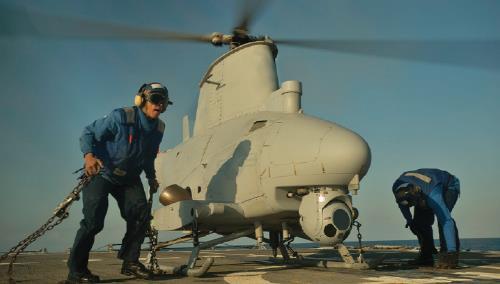미국, MQ-8B '파이어 스카우트' 무인헬기 대만 판매 동의