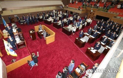 충북도의회 [연합뉴스 자료사진]