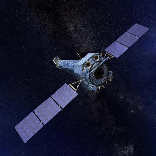 원인을 알 수 없는 고장으로 '안전모드'로 전환된 찬드라 x선 우주망원경 상상도.