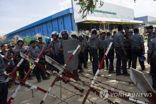 미얀마 진출 中 의류업체서 파업 노동자 폭행 사건 파문