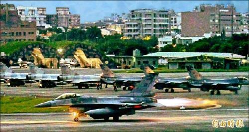 대만, '중국 위협 대비' 3군 합동 방공훈련 실시
