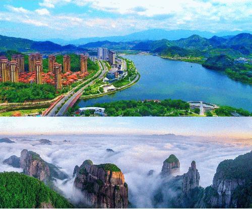 """[AsiaNet] 저장 성 셴쥐, 녹색 개발 특징으로 한 """"아름다운 중국.."""