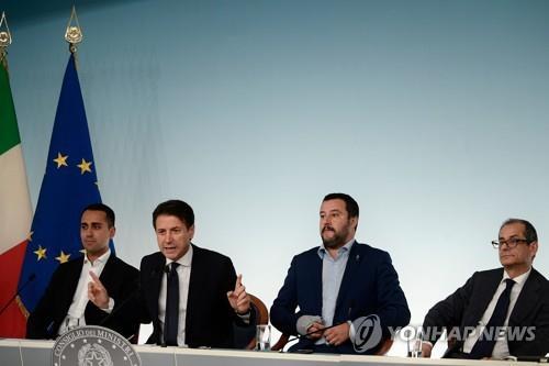 伊포퓰리즘 정부, 재정적자 늘린 예산 승인…EU와 충돌 수순