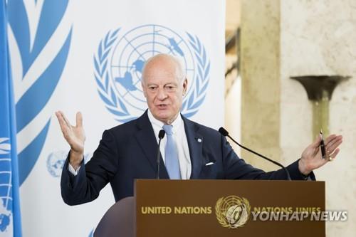 유엔 시리아특사 사퇴…러, 평화협상 주도권도 장악