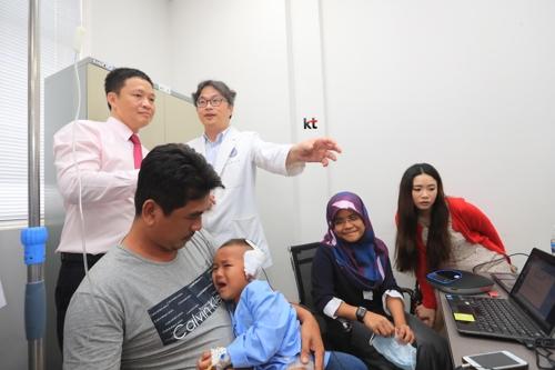 KT-연세의료원, 캄보디아에 원격진료소 개소