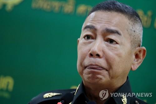 태국 육군참모총장 총선 후 정정불안시 또 쿠데타 가능성
