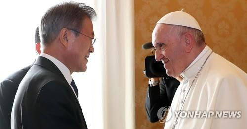 """교황청 """"프란치스코 교황, 진지하게 방북 고려할 것"""""""