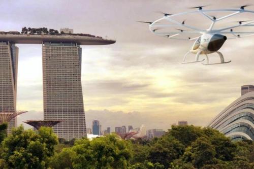 하늘 나는 '에어 택시', 내년 싱가포르서 시험 가동