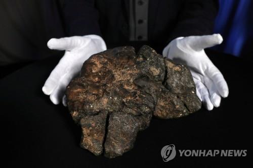 수천년전 지구에 떨어진 5㎏짜리 달 운석, 경매서 7억원에 낙찰