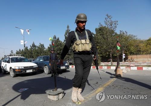 """""""총선 아프간 카불에서 자살폭탄 테러…최소 10명 사망"""""""