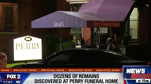 美 장례식장서 '의문의 태아시신' 60여구 발견