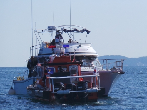 양양 해상서 4명 탄 모터보트 조난…해경에 구조