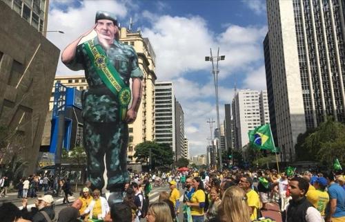 브라질 대선 결선투표 D-7…극우 대선후보 지지 시위 잇달아