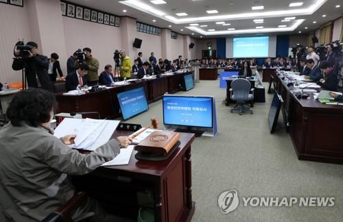 """[국감현장] """"강원도정, 첩보영화 찍듯 보안 유지하다가 문제"""""""