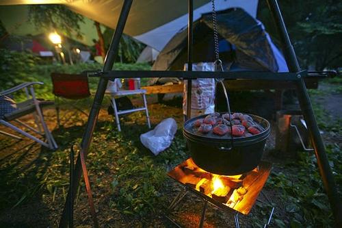 [길따라 멋따라] 가을 '단풍 캠핑'의 쏠쏠한 매력…가평 캠핑장 삼총사