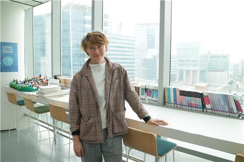 한국을 처음 방문한 프란 에쥘리