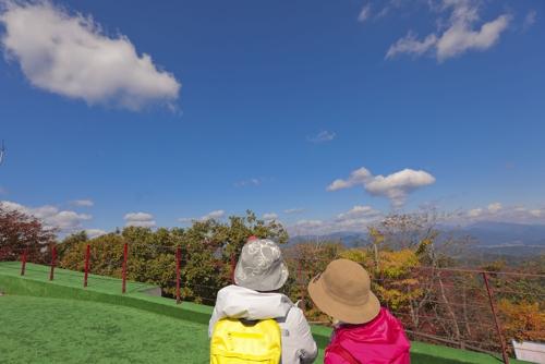 [길따라 멋따라] 해발 535m 산꼭대기에 있는 가평 호명호수…가을이 달..