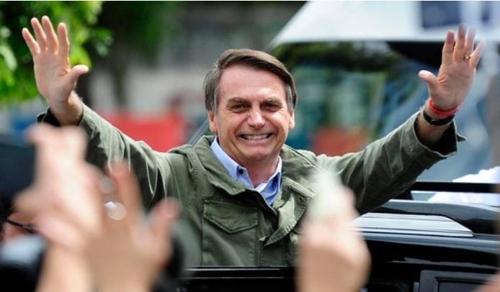 자이르 보우소나루 브라질 대통령 당선인 [브라질 뉴스포털 G1]