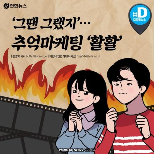 """[카드뉴스] """"그땐 그랬지""""…추억마케팅 '활활'"""