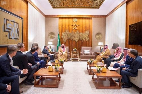 사우디 왕세자, 美 복음주의 기독교 대표단 이례적 접견