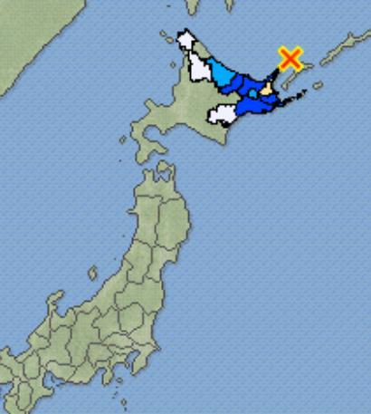 日 홋카이도 동북부서 규모 6.2 지진…쓰나미 발생 안해