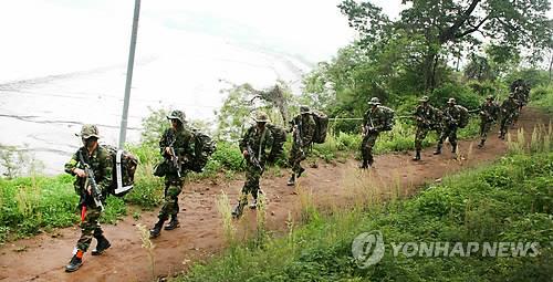 육군 수도군단 대침투훈련[수도군단 제공 자료사진]
