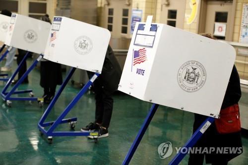 美중간선거 날씨도 변수…비 1인치 내리면 투표율 1%↓