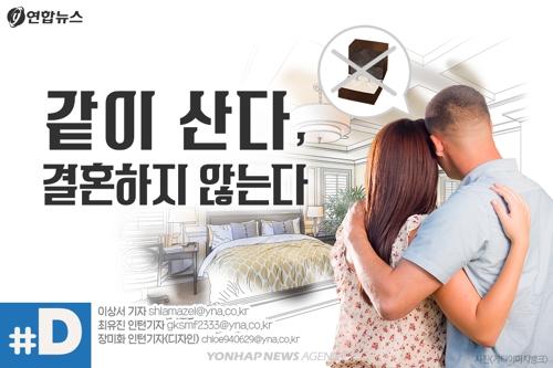 """[디지털스토리] """"수억원 드는 결혼…동거는 선택이 아닌 필수였다"""""""