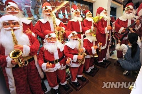 무역전쟁 영향에도…中 크리스마스장식 수출 '성장세 기대'