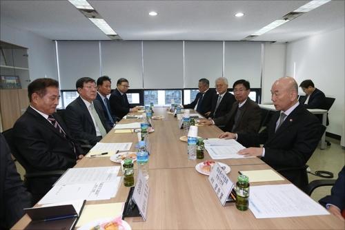 [동정] 이효성 방통위원장, TV홈쇼핑·납품업체 대표자 간담회
