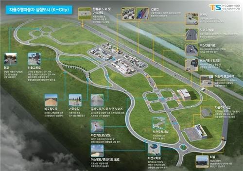 KT·교통안전공단, K-시티에 5G 구축…자율주행 기술 검증