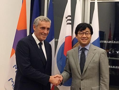 """佛 몽펠리에시장 """"한국 학생·예술가들이 도시 발전에 공헌"""""""