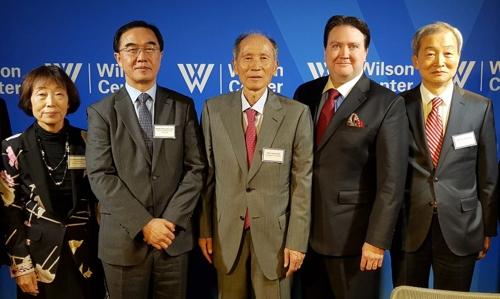 [동정] 박재규 경남대 총장 '한반도 국제포럼 미국회의' 참석