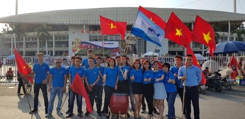 동남아축구대회 출전한 박항서호에 월드컵 못지않은 응원열기