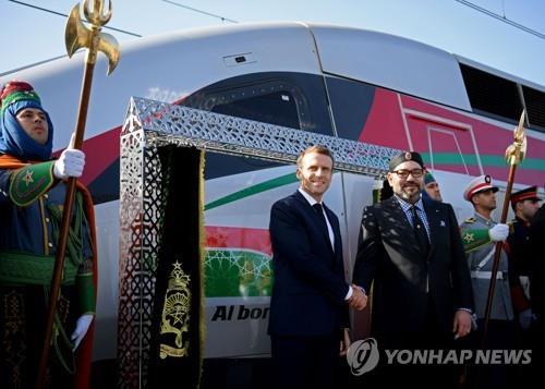 모로코서 아프리카 최고속도 열차 운행…시속 320㎞