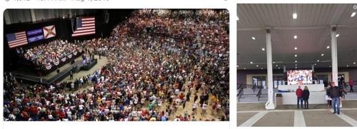 트럼프 주장한 집회 군중 수 미스터리…최소 3.5배 부풀려