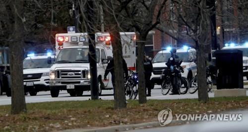 美 시카고 병원서 총격…총격범 사망·경찰관 포함 4명 중태(종합)